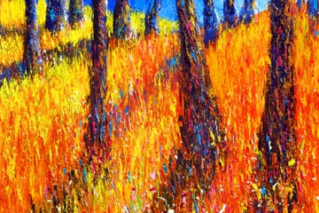 Autumn Trees - 85cm x 60cm - £900
