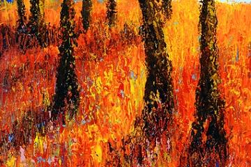 Through the Trees - 42cm x 30cm - £250